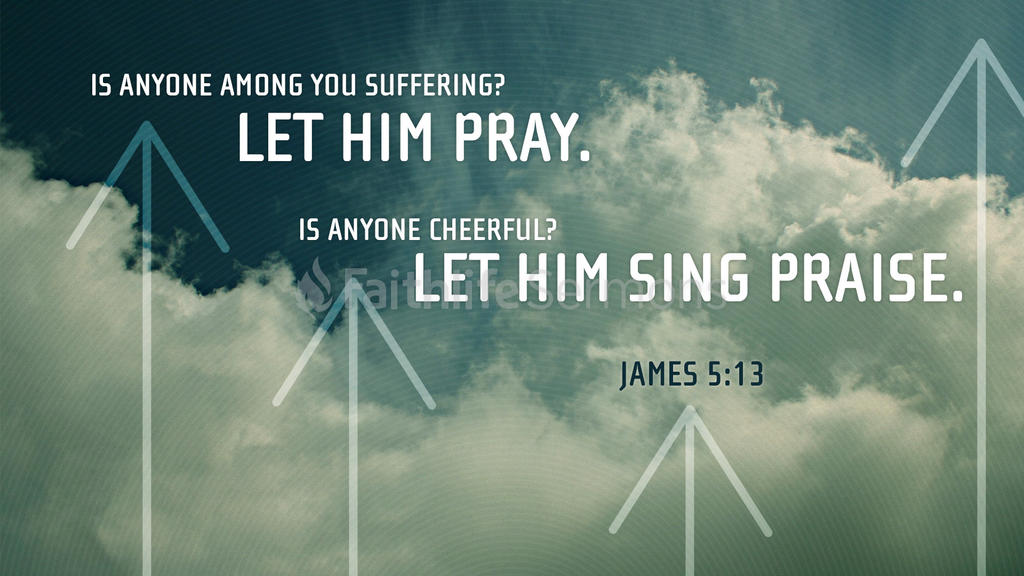 James 5:13 large preview