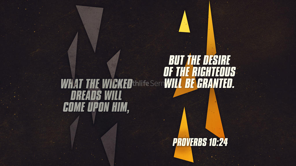 Proverbs 10 24 3840x2160 preview