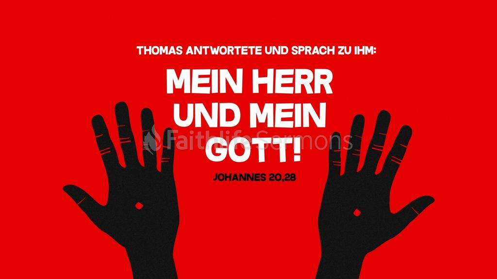 Johannes 20,28 large preview