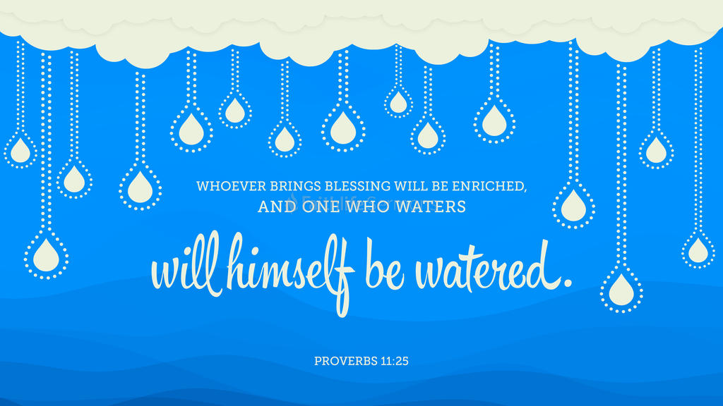 Proverbs 11:25 large preview