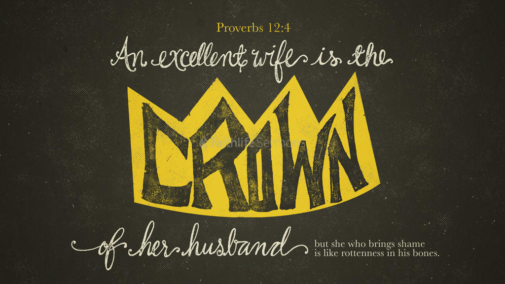 Proverbs 12 4 3840x2160 preview