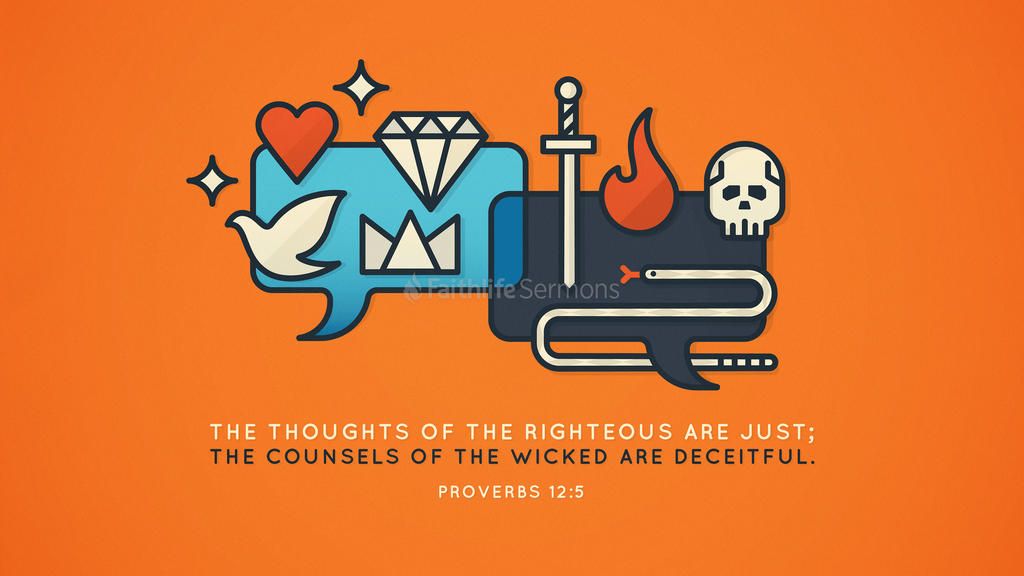 Proverbs 12 5 3840x2160 preview