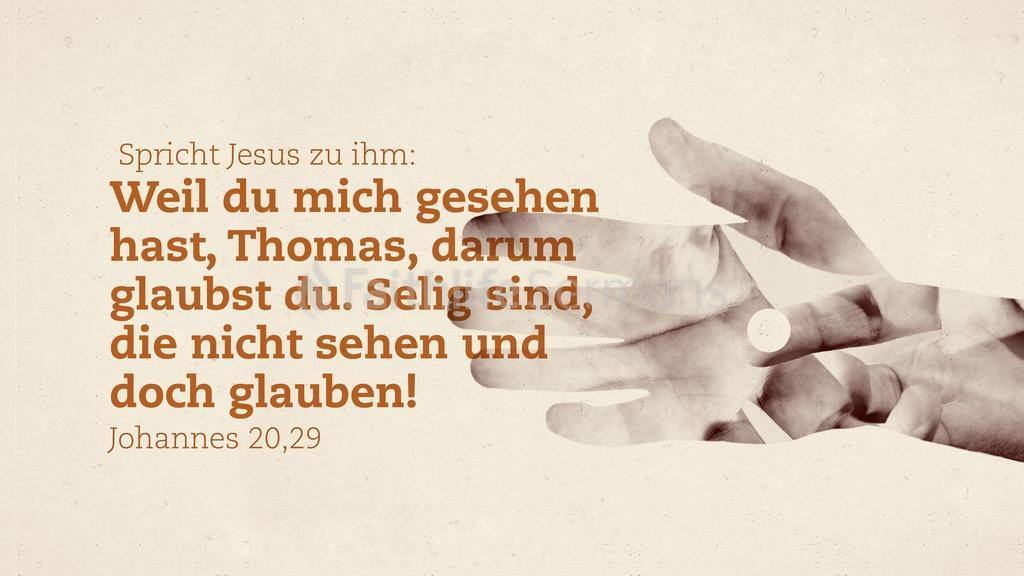 Johannes 20,29 16x9 preview