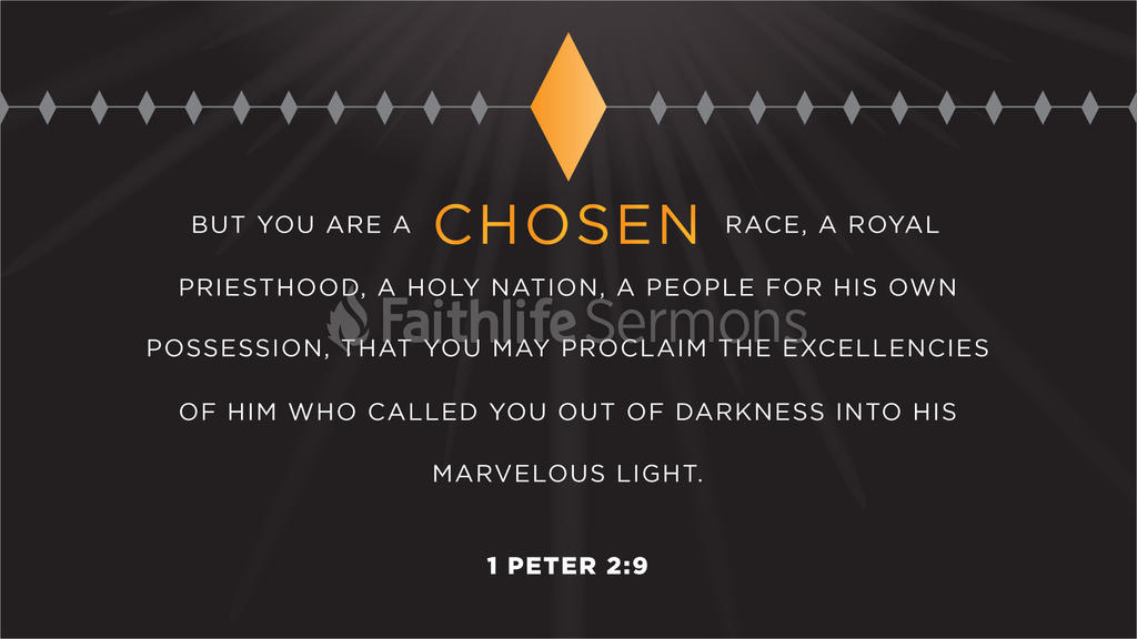 1 Peter 2:9 large preview