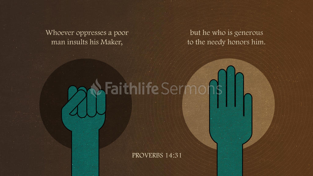 Proverbs 14:31 large preview