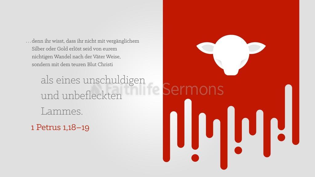 1. Petrus 1,18–19 large preview