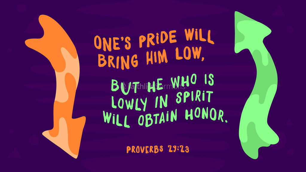 Proverbs 29 23 3840x2160 preview