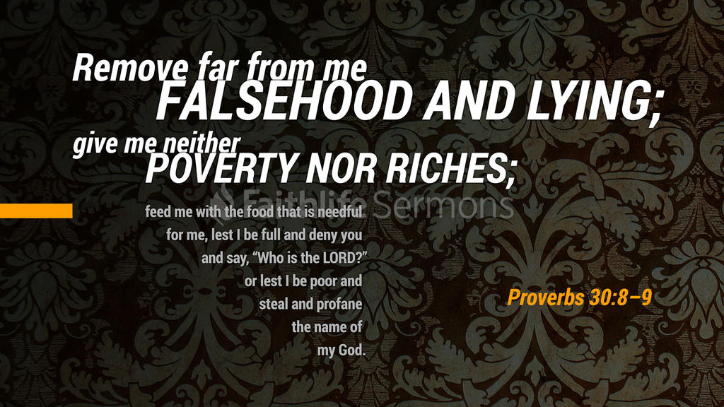 Proverbs 30:8–9 large preview