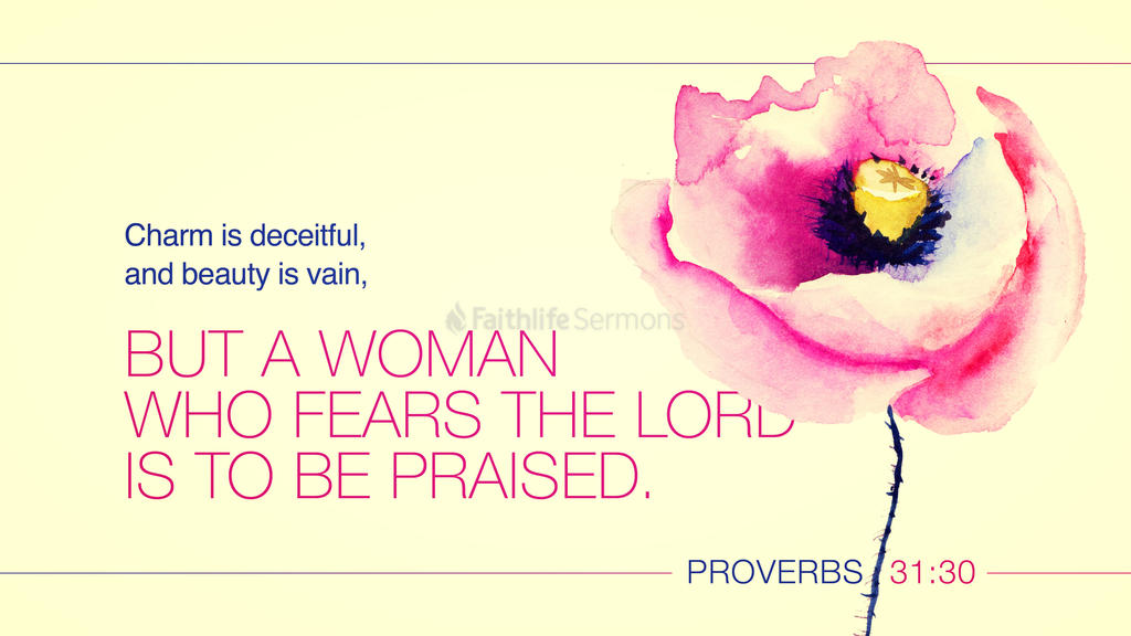 Proverbs 31:30 large preview