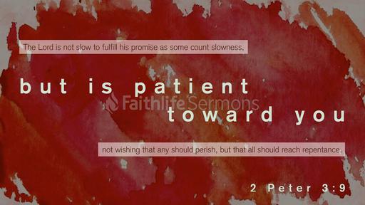 2 Peter 3:9
