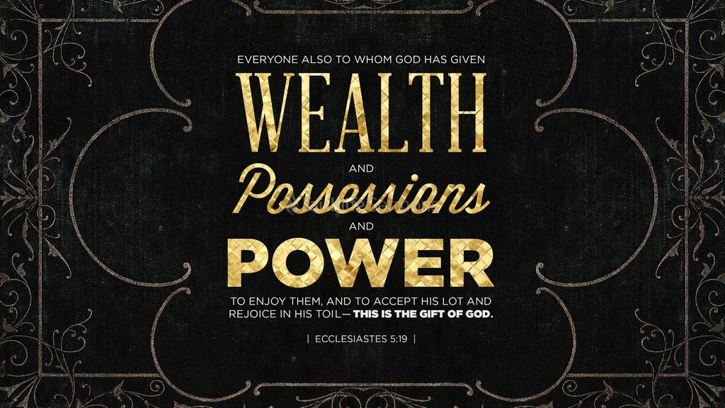 Ecclesiastes 5:19 large preview