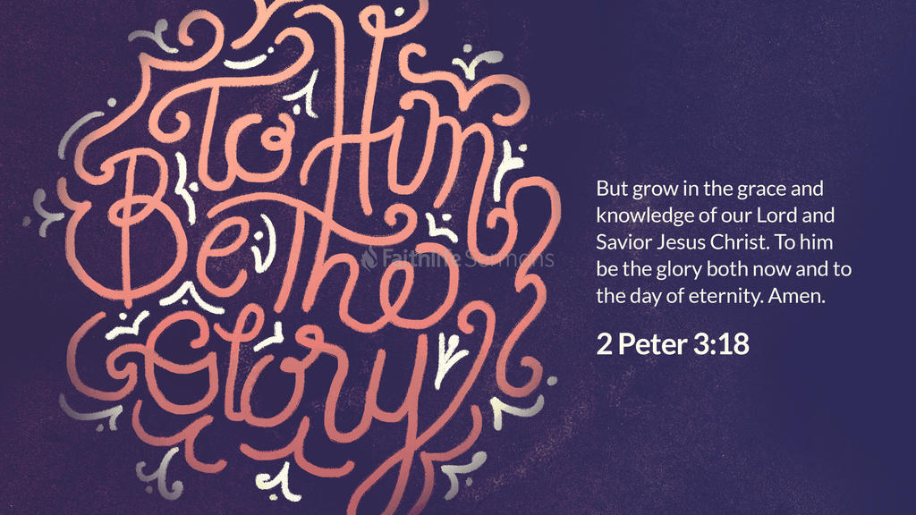2 Peter 3 18 3840x2160 preview