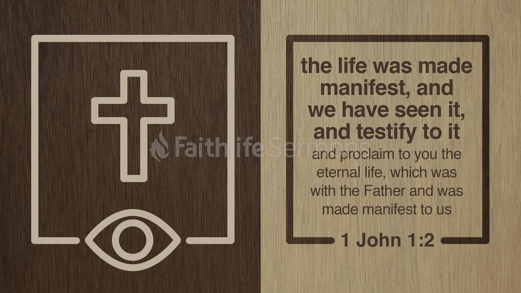 1 John 1:2 large preview