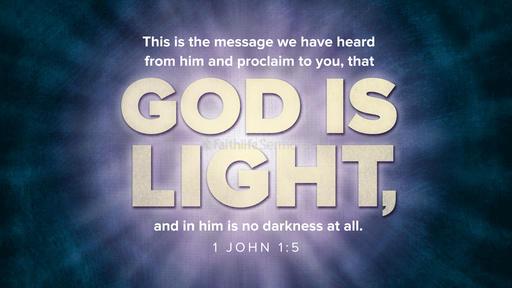 1 John 1:5
