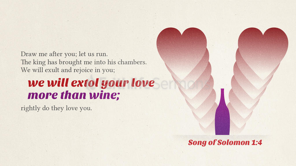 Song of Solomon 1:4 large preview