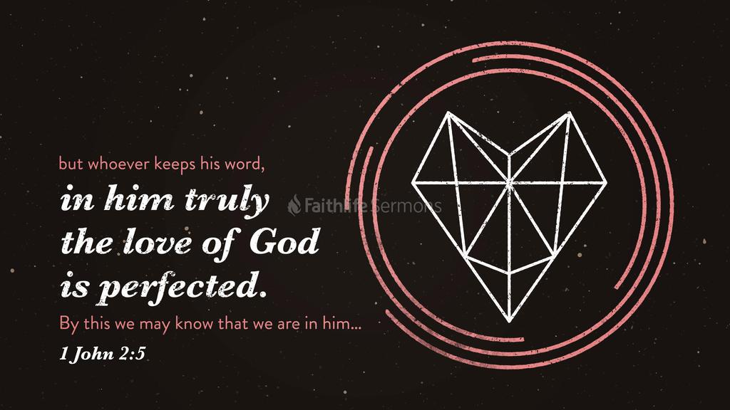 1 John 2:5 large preview
