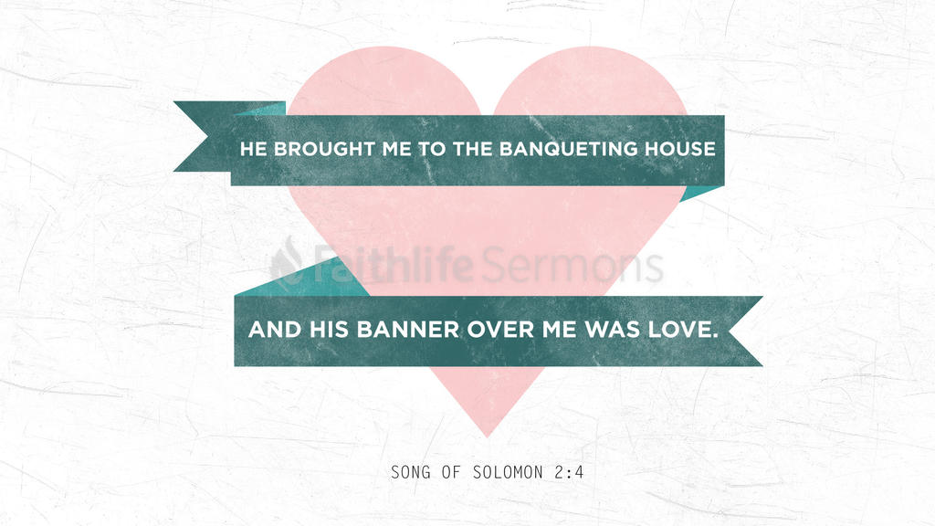 Song of Solomon 2:4 large preview