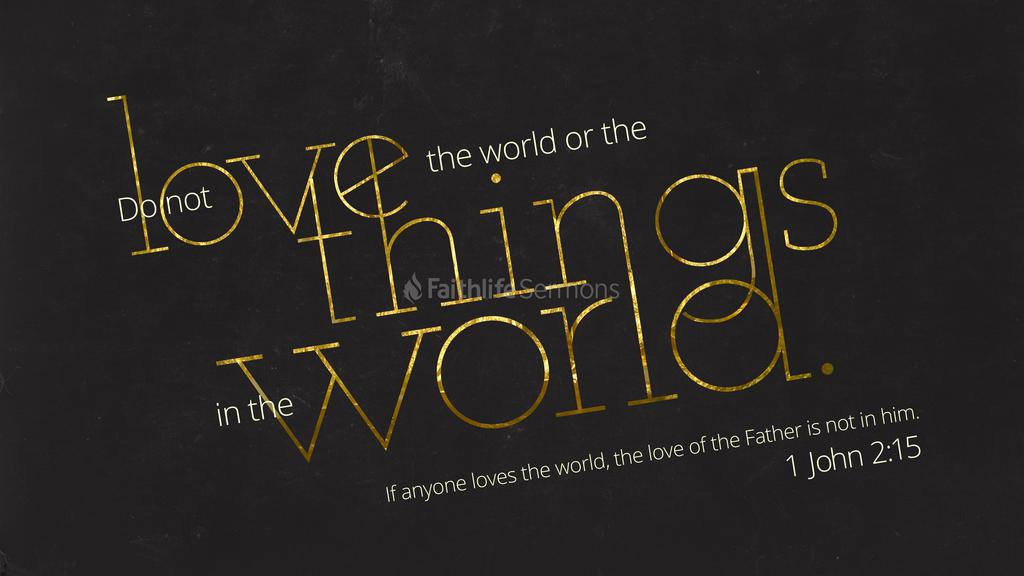 1 John 2:15 large preview