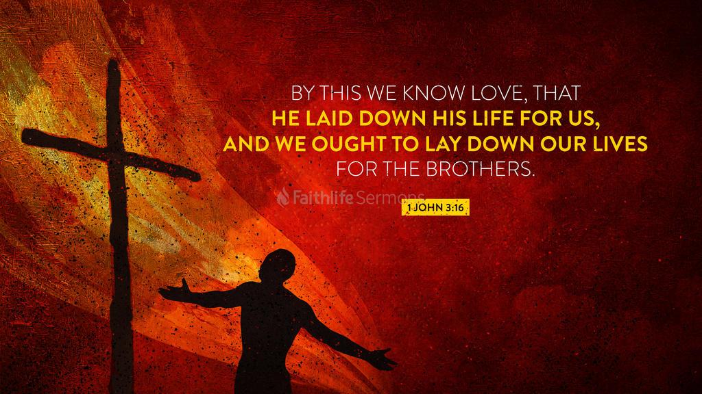 1 John 3:16 large preview