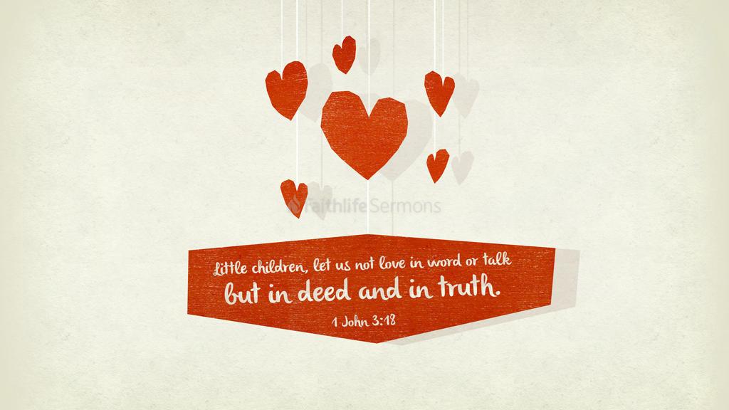 1 John 3:18 large preview