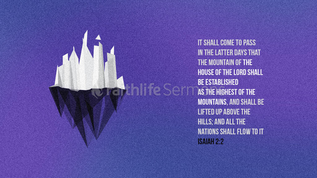 Isaiah 2:2 large preview