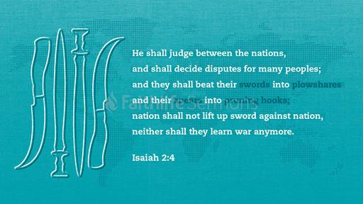 Isaiah 2:4
