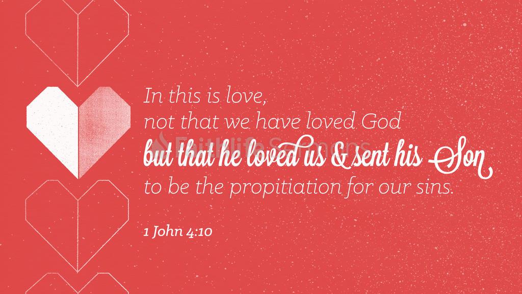 1 John 4:10 large preview