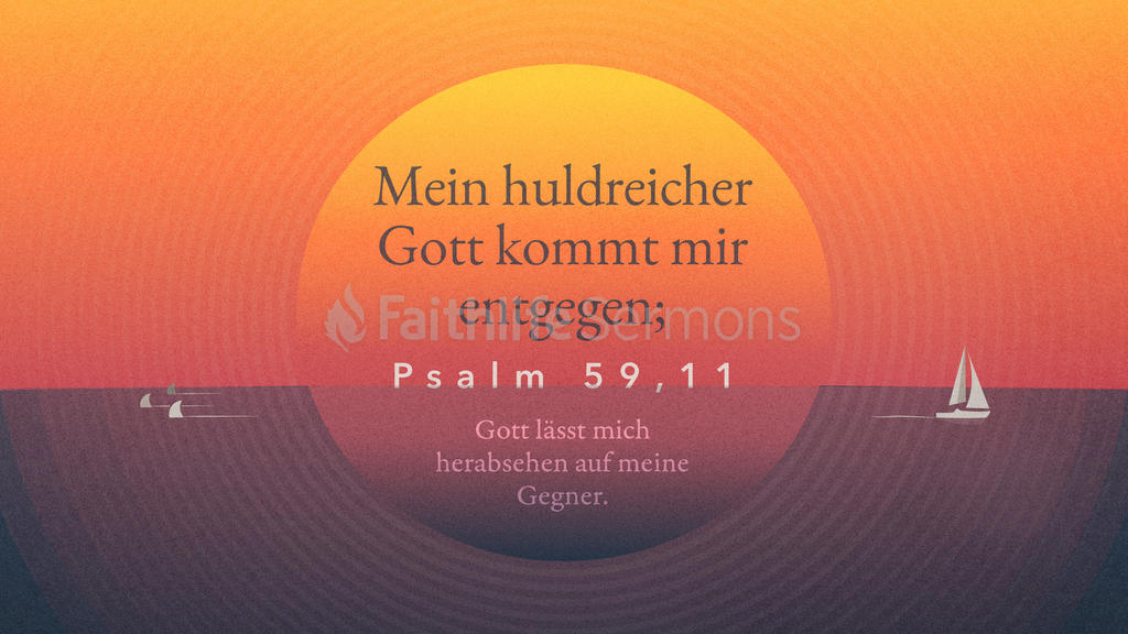 Psalter 59,10 large preview