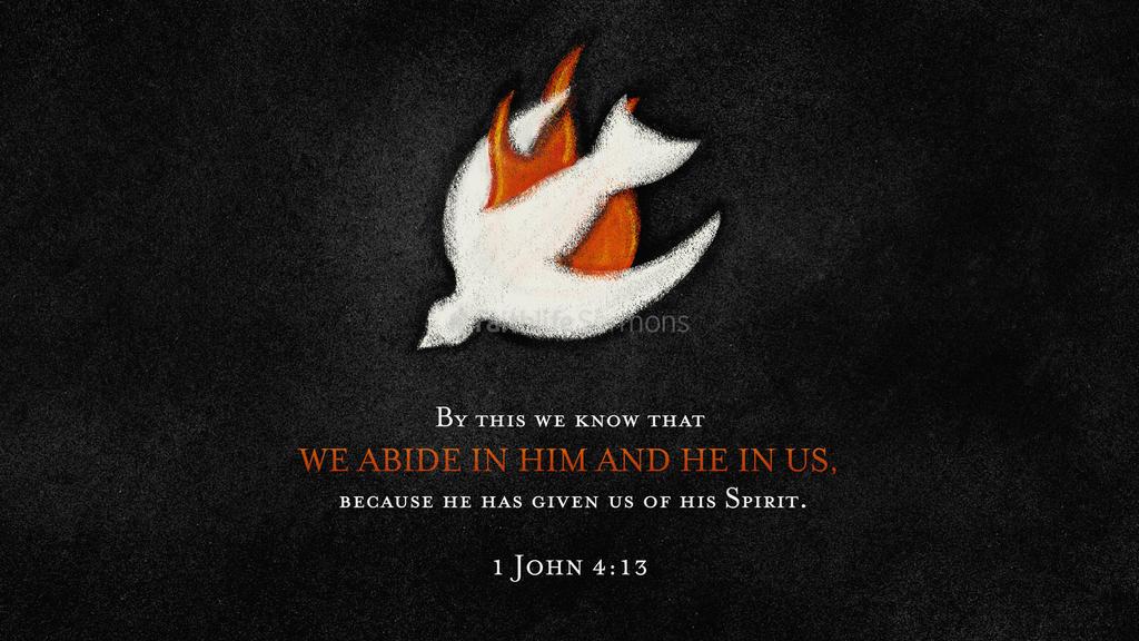 1 John 4:13 large preview