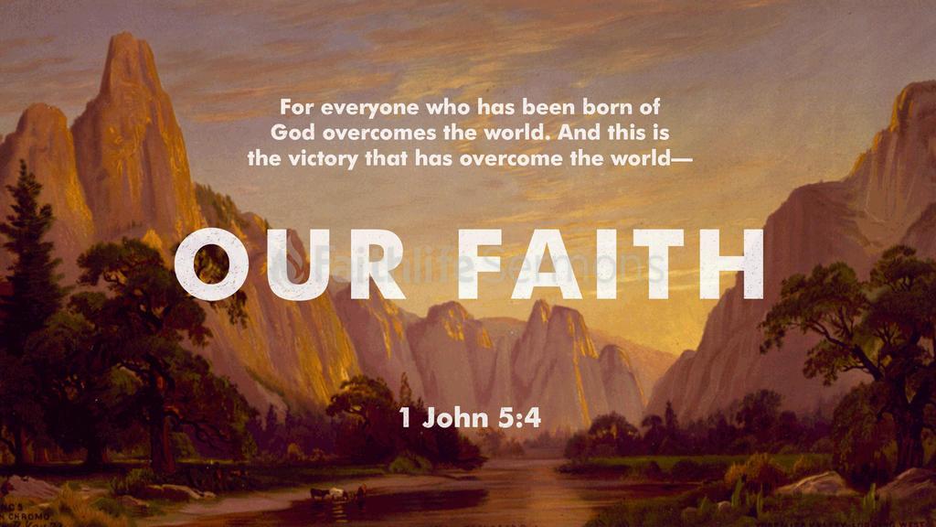 1 John 5:4 large preview