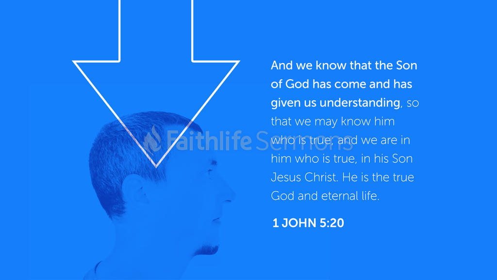 1 John 5:20 large preview