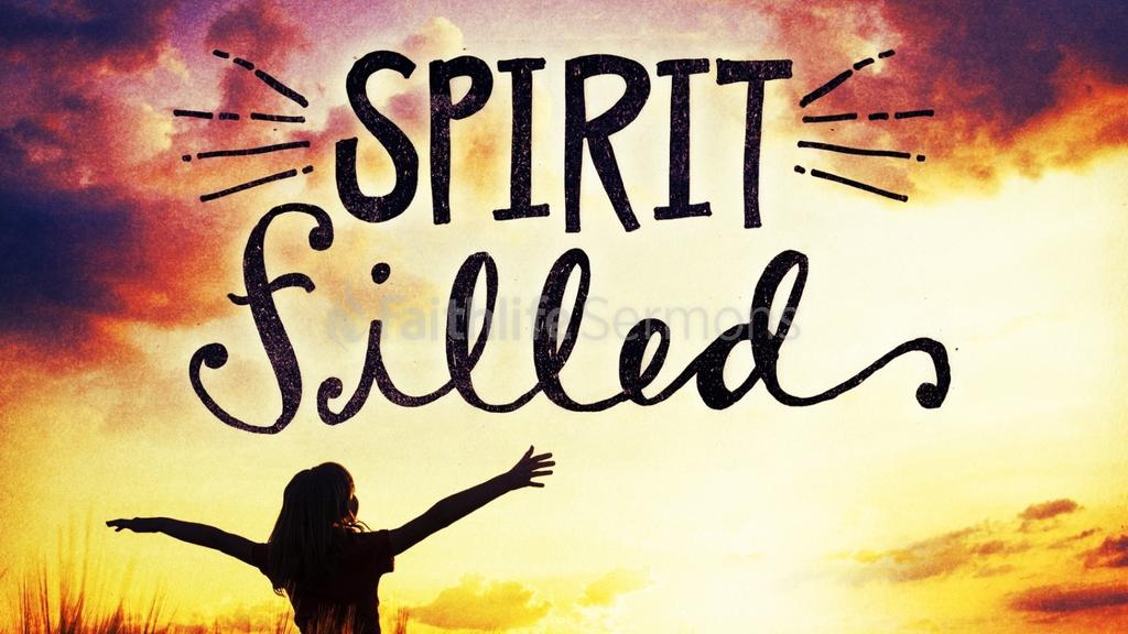 Spirit Filled preview