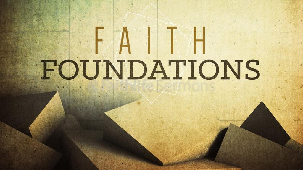 Faith Foundations preview