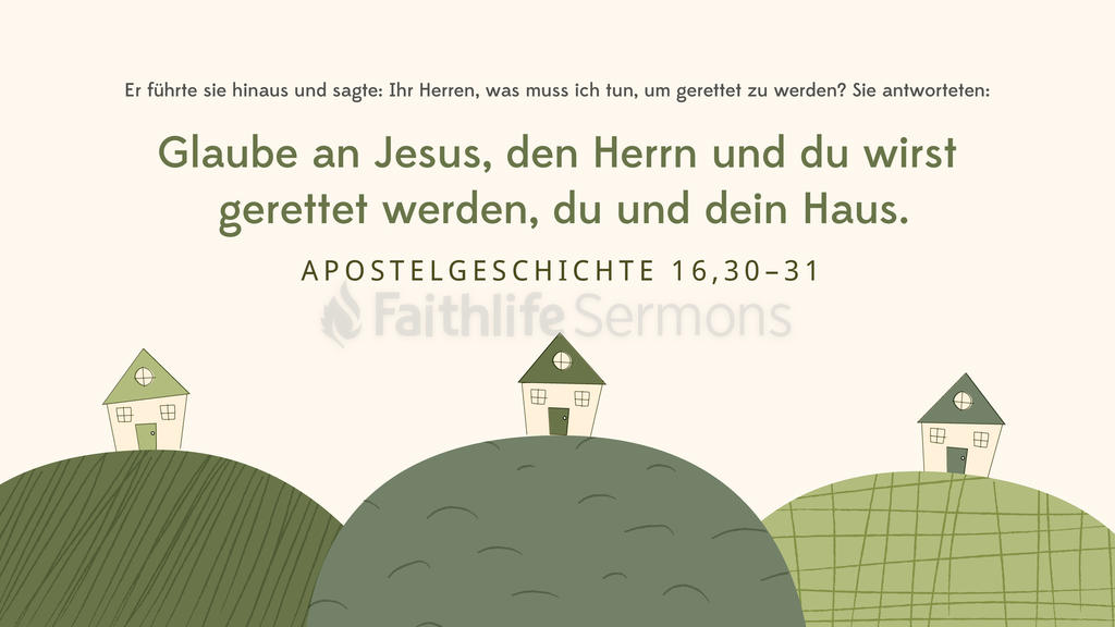 Apostelgeschichte 16,30–31 large preview