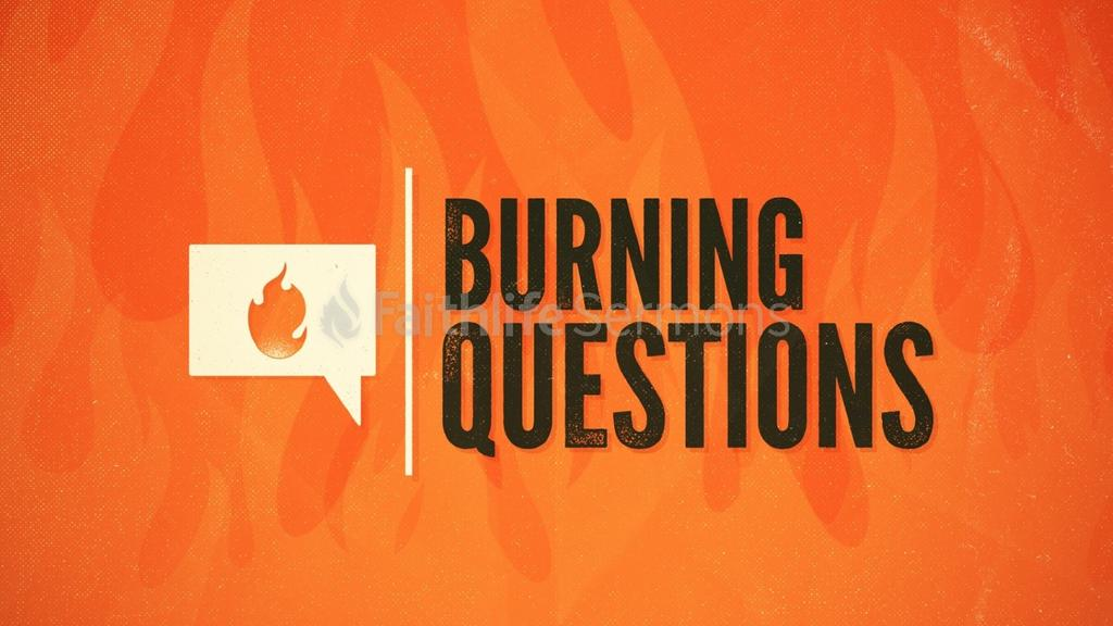 Burning Questions preview