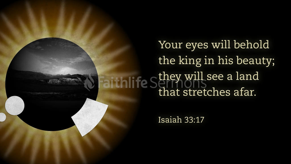 Isaiah 33:17 large preview