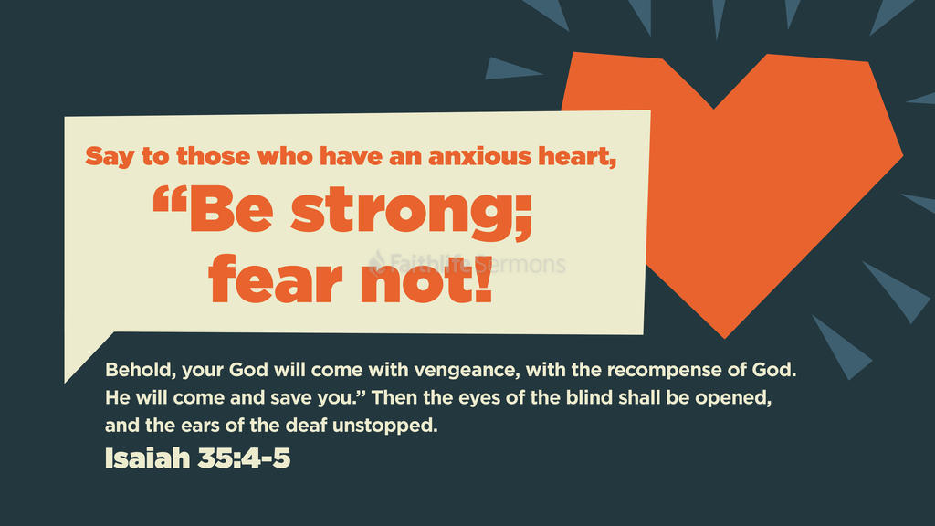 Isaiah 35:4–5 large preview
