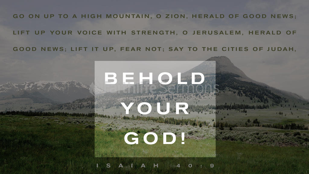 Isaiah 40:9 large preview