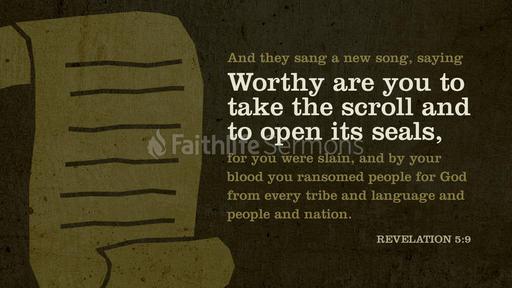 Revelation 5:9