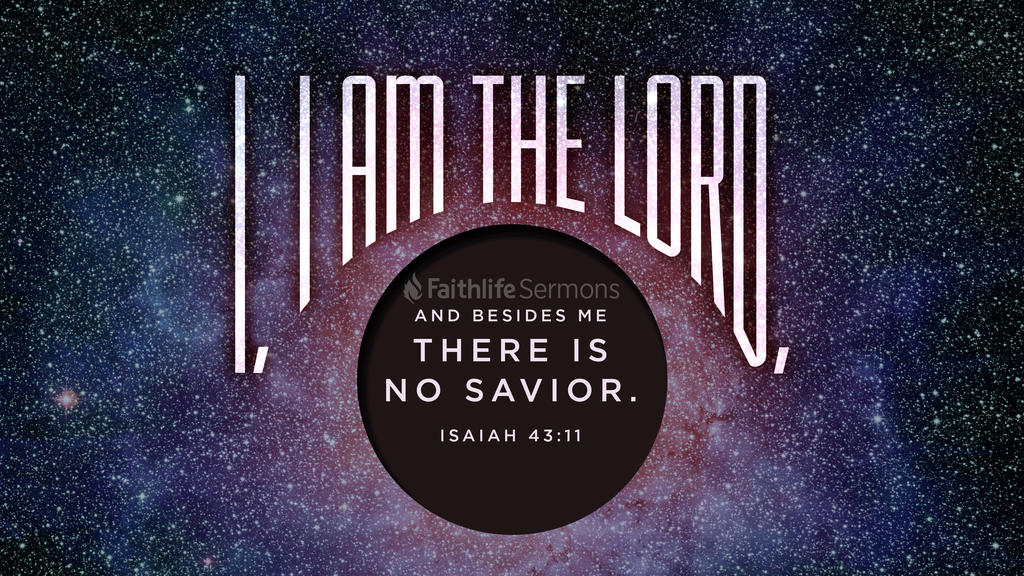 Isaiah 43:11 large preview
