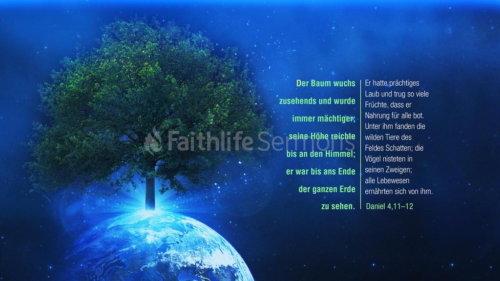 Daniel 4,11–12 large preview