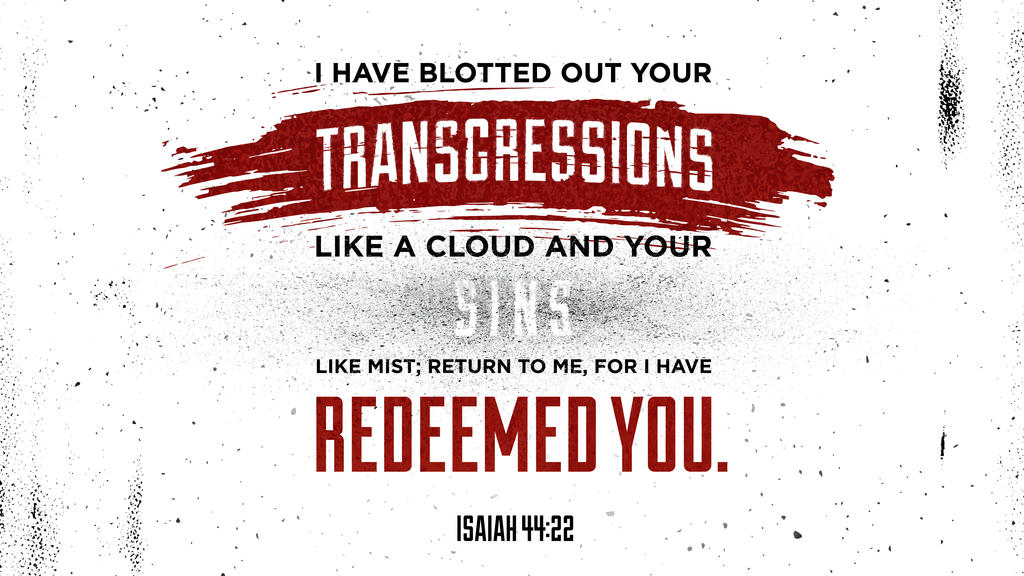 Isaiah 44:22 large preview