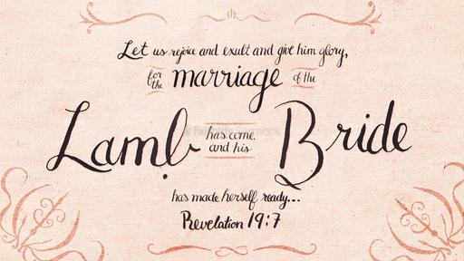 Revelation 19:7