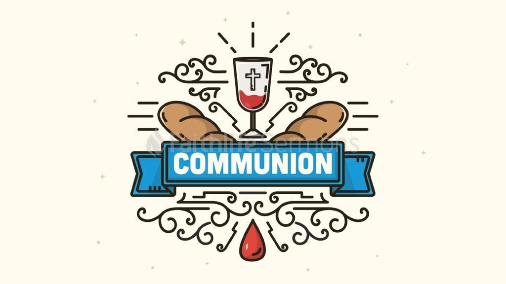 Communion Blue Banner preview