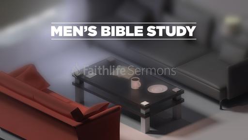 Men's Bible Study and Fellowship