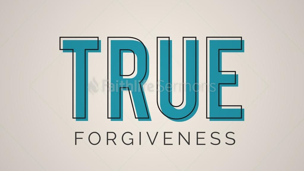True Forgiveness large preview
