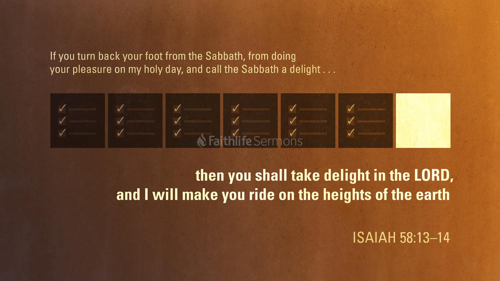 Isaiah 58 13 14 3840x2160 preview