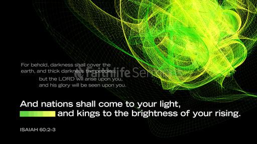 Isaiah 60:2–3