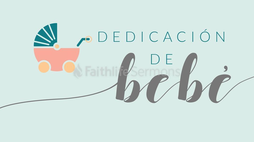 Baby Dedication dedicación de bebé 16x9 preview