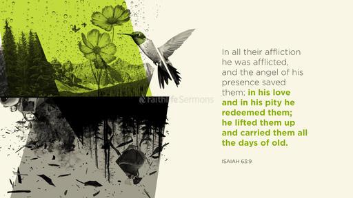 Isaiah 63:9